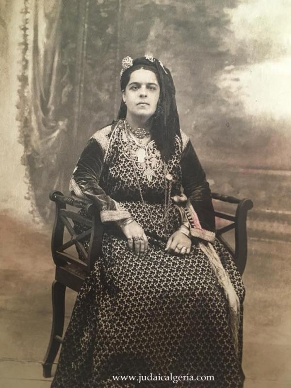Femme juive d oran 19eme siecle ph peggy afuta