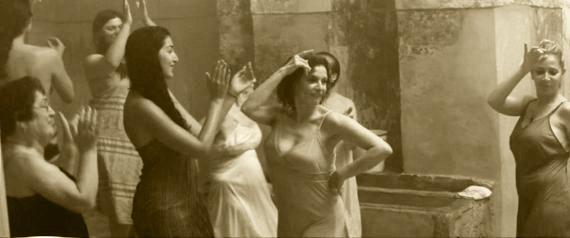Femmes aux bains maures