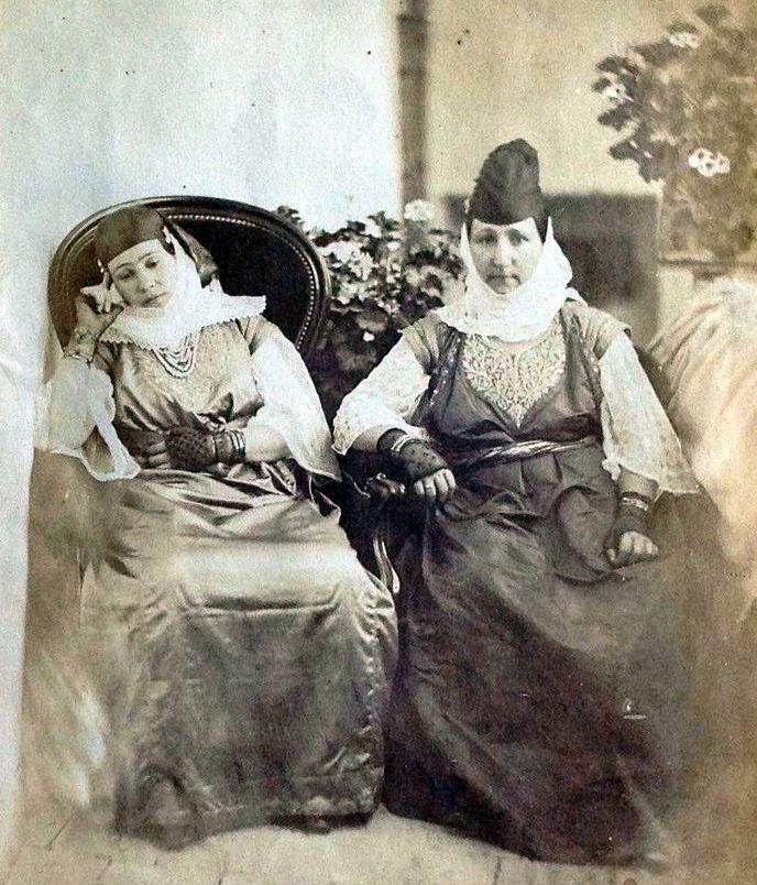 Femmes juives d Algerie fin 19eme siecle