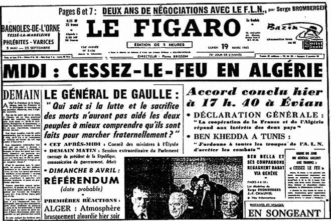 Figaro accords d evian