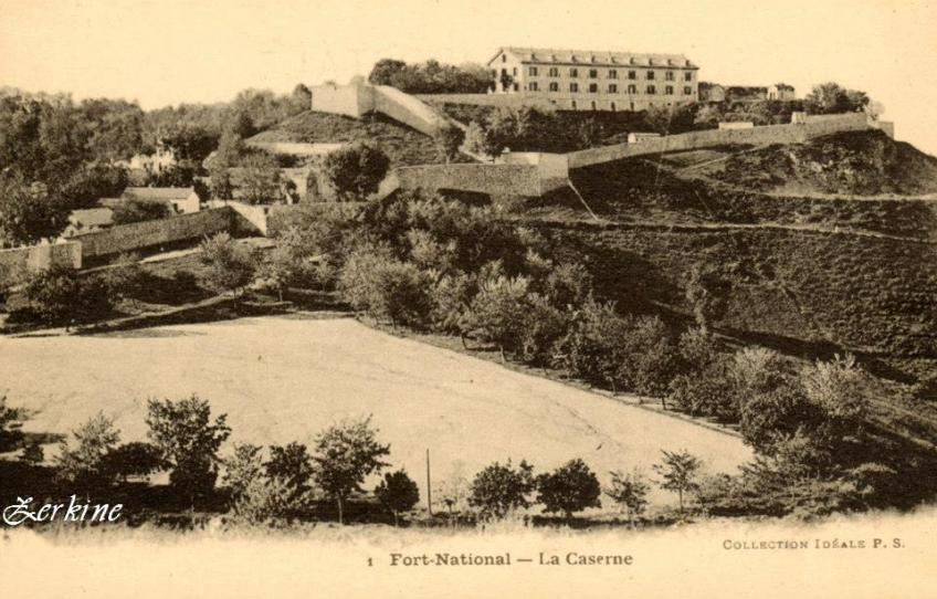 Fort national la caserne