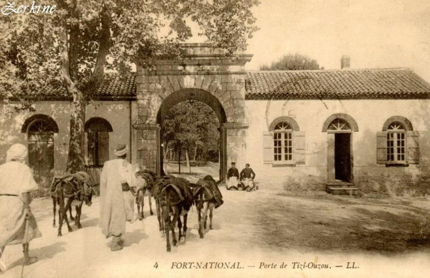 Fort national porte de tizi ouzou