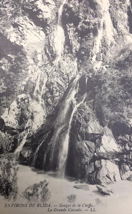 Gorges de la chiffa la grande cascade