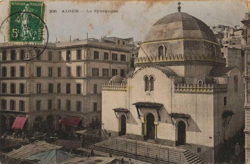 Grande synagogue de la rue randon alger