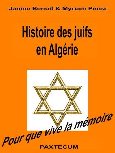 Histoire des juifs en algerie