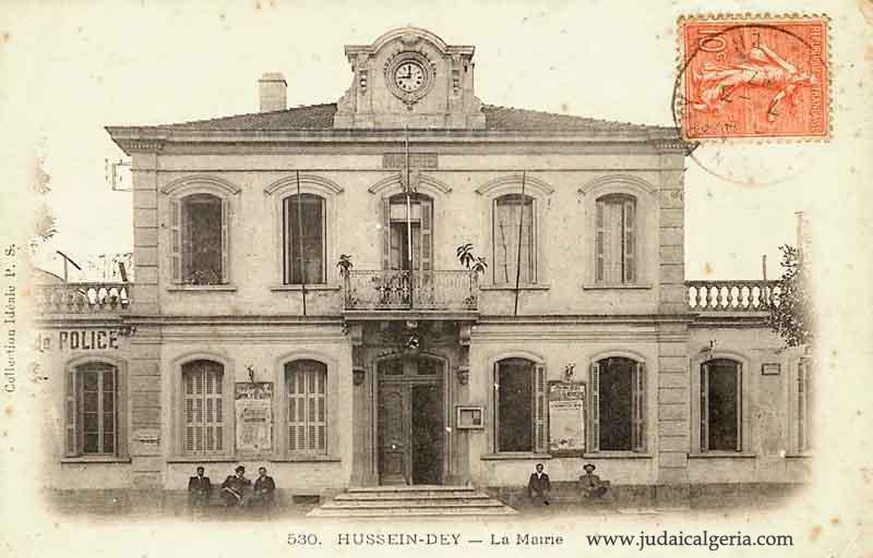 Hussein dey la mairie