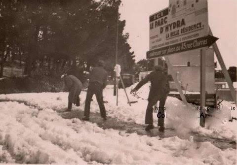 Hydra sous la neige 1935