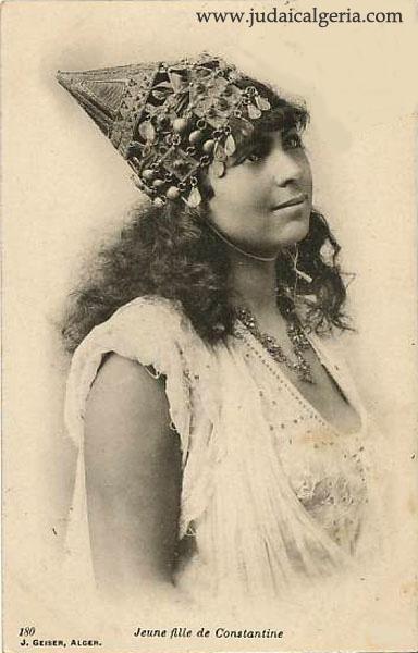 Jeune fille juive de constantine 1