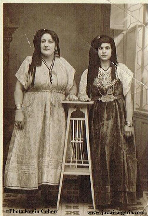 Jeunes femmes juives de constantine 1907 ph kevin cohen