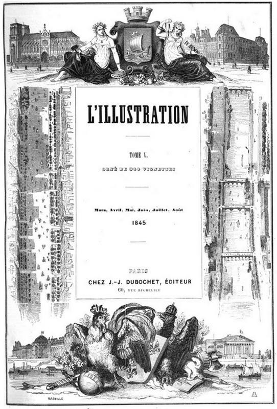 Journal l illustration 1845