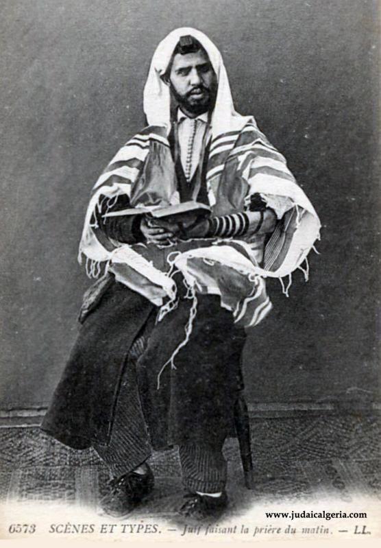 Juif faisant la priere