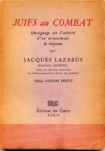 Juifs au combat jacques lazarus