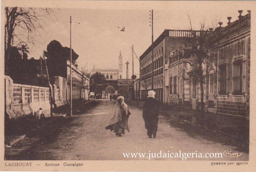 Laghouat avenue cassaigne