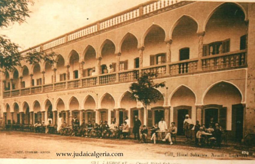 Laghouat hotel saharien aracil