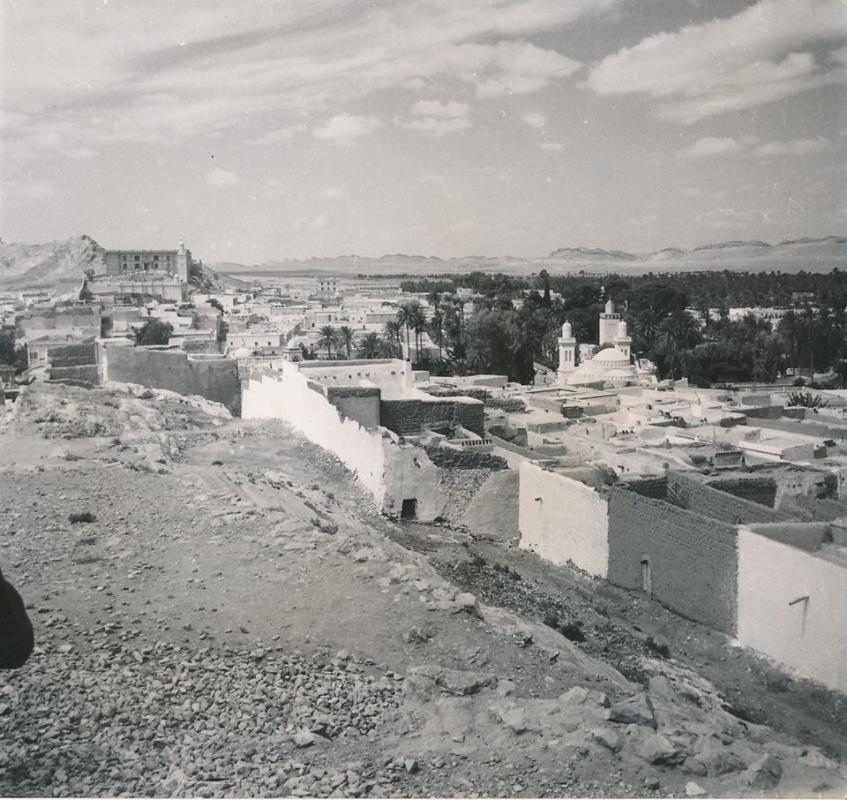 Laghouat vue generale annee 1950