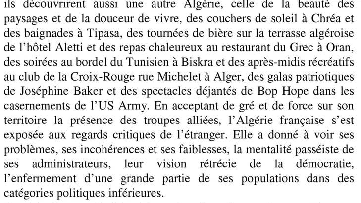 Les americains en algerie extraits 2