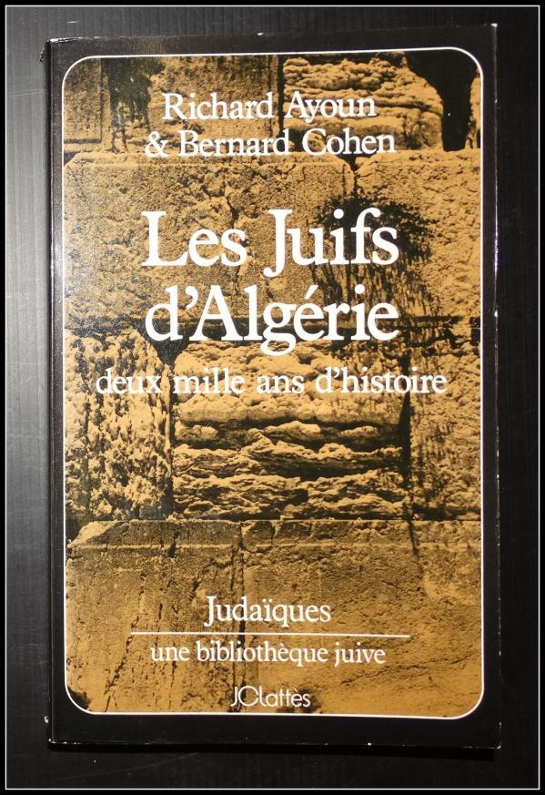 Les juifs d algerie 2000 ans d histoire couv