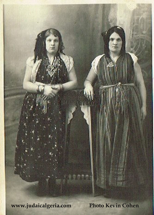 Les soeurs zara et esther cohen setif 1898 ph kevin cohen