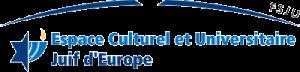 Logo espacev culturel et univeersitaire juif d europe