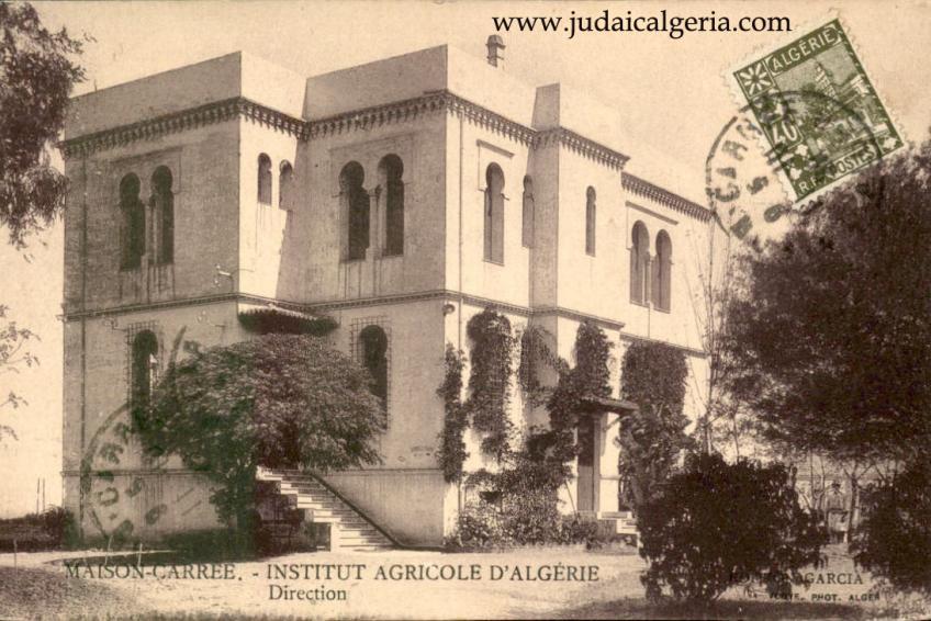 Maion carree institut agricole d algerie