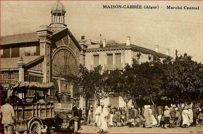 Maions carrees le marche central