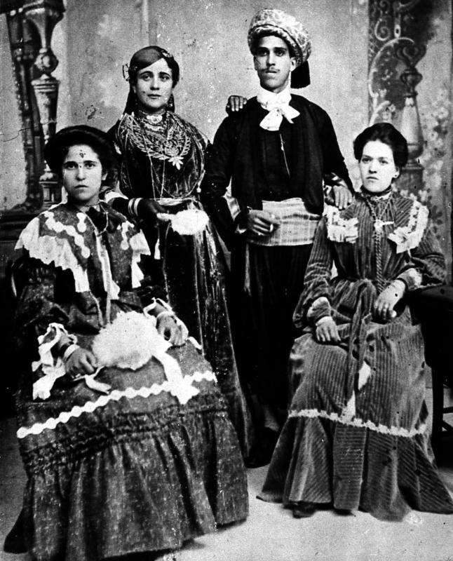 Mariage a tlemcen 1902