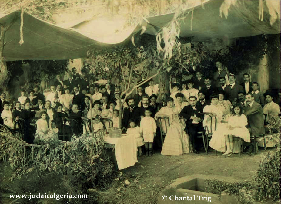 Mariage juif a blida 1904 photo chantal trig