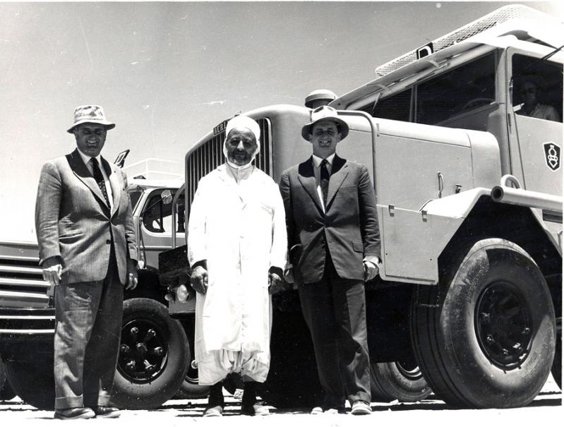 Maurice et paul berliet au sahara