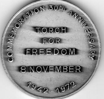 Medaille commemoration du 30eme anniversaire