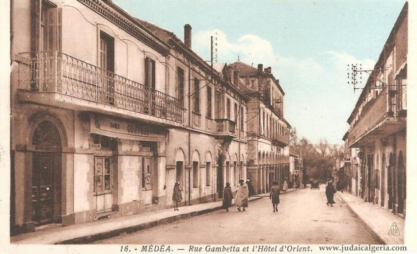Medea rue gambetta et hotel d orient
