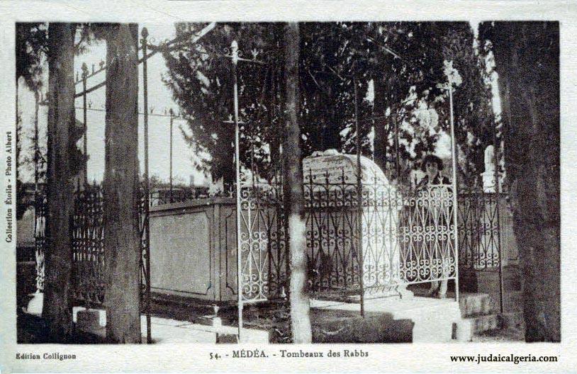 Medea tombeaux des rabbs