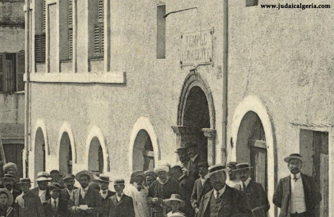 Miliana temple israelite 1921