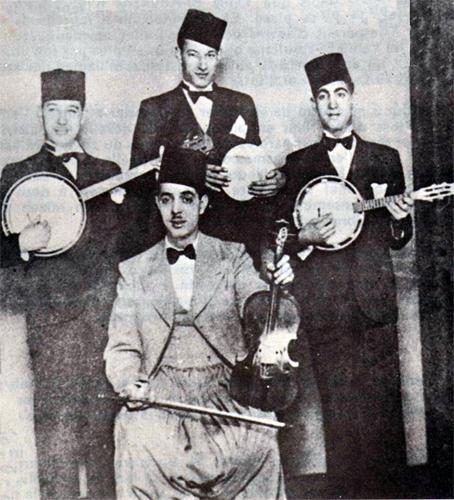 Ochestre musique arabo andalouse