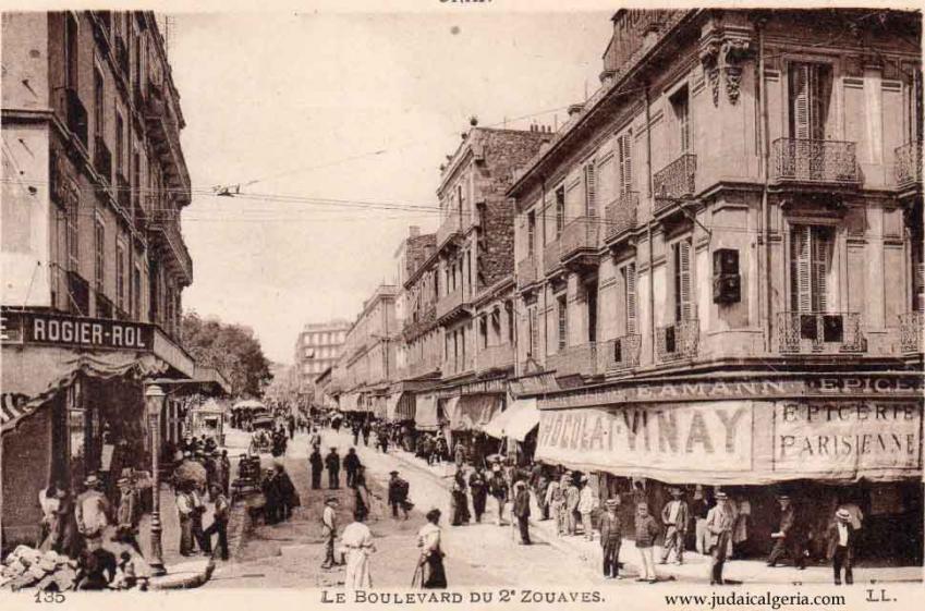 Oran boulevard du 2eme zouave 2