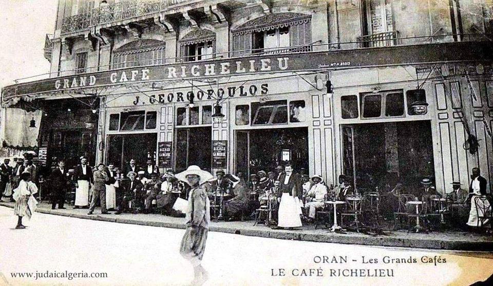 Oran grand cafe richelieu