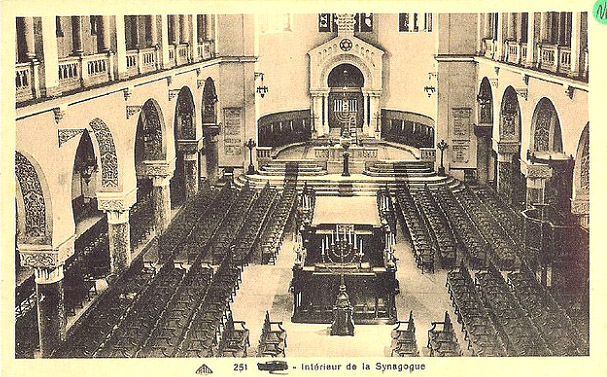 Oran interieur de la synagogue