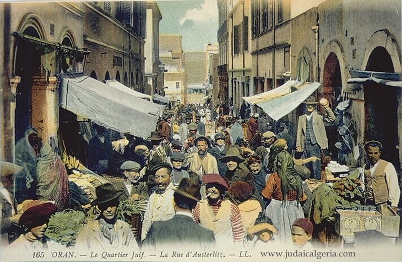 Oran rue d austerlitz quartier juif