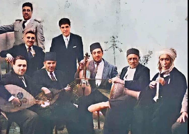 Orchestre du cheik raymond leyris annees 40