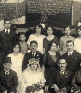 Photographie de mariage juif a alep