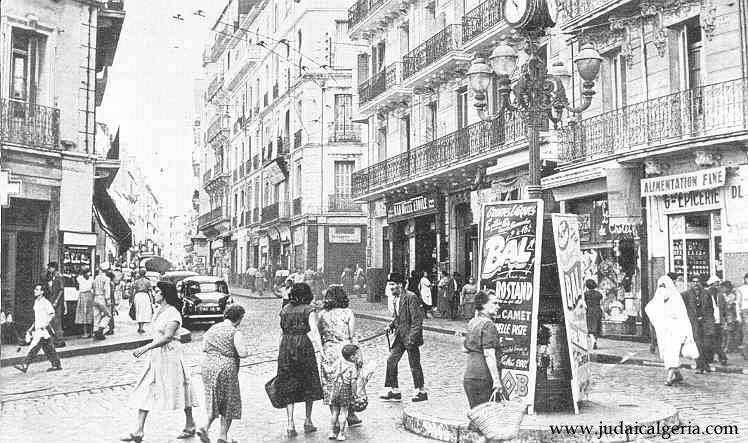 Place des trois horloges 1957