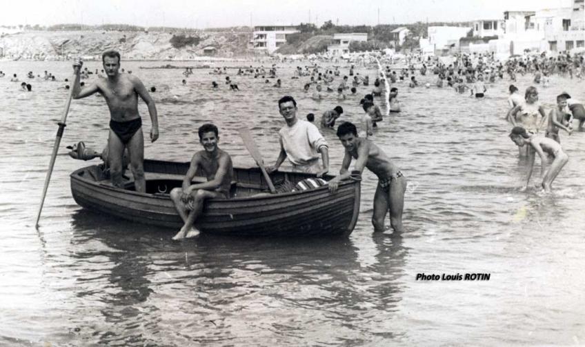 Plage de la madrague 1961
