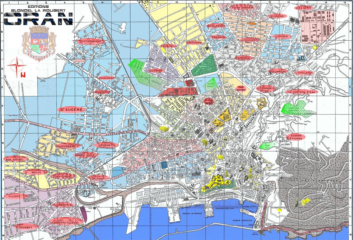Plan ville oran 6