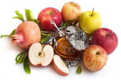 Pommes miel et grenande
