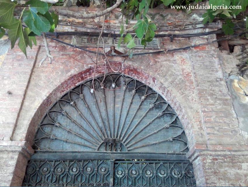 Porte de la synagogue de blida1