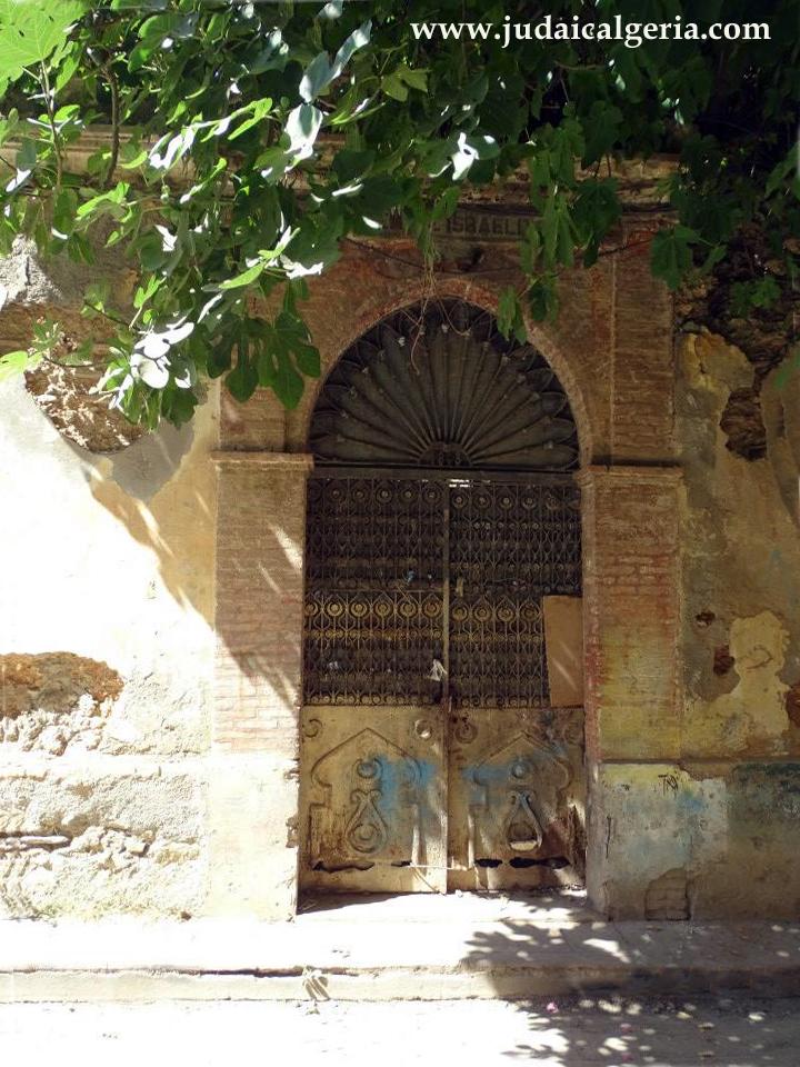 Porte de la synagogue de blida2