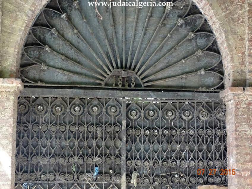 Porte de la synagogue de blida3