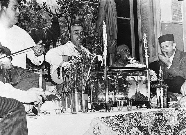Raymond leyris et son orchestre lors d une celebration constantine 1955