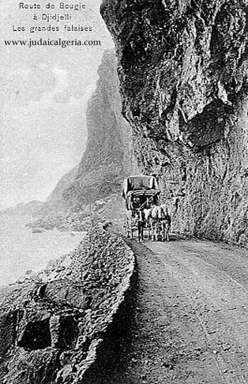 Route de bougie a didjelli les grandes falaises