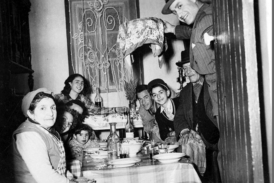 Seder de pessah bou saada 1952