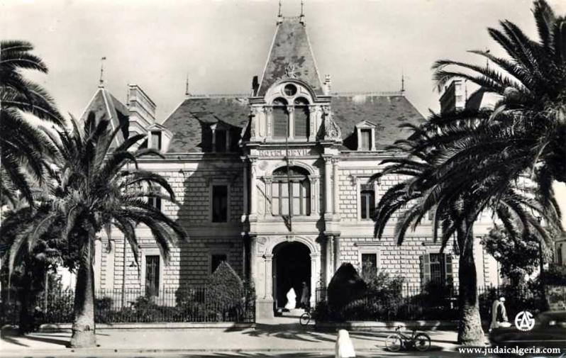Sidi bel abbes hotel de ville